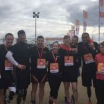 Invictus Games 2014 Competitors Line Up for Sport Relief Mile