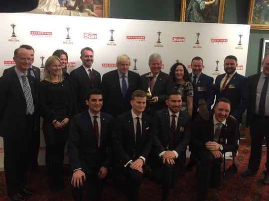 The Invictus Games Foundation team and competitors from the 2014 Invictus Games