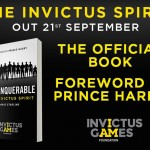 Prince Harry Writes Foreword for UNCONQUERABLE: The Invictus Spirt by Boris Starling